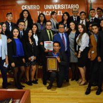 Realiza Centro Universitario Tlacaélel 2do. Concurso de Juicios Orales