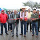 Inauguran obras de electrificación en la Sierra Sur de Oaxaca