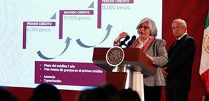 Presenta AMLO el programa Tandas para el Bienestar