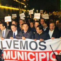 """Sí les echamos gas lacrimógeno, """"pero poquito""""; el inicio de represión"""