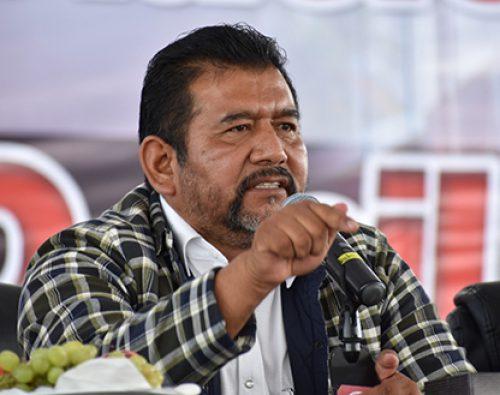 Antorcha continuará en San Lázaro; «Acuerdo» de Eraclio Rodríguez es un engaño a campesinos