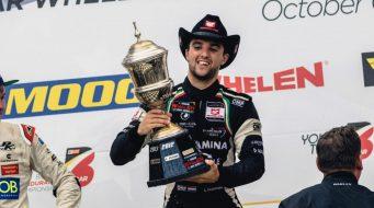 Campeón europeo de Nascar a la final de Nascar Peak en México