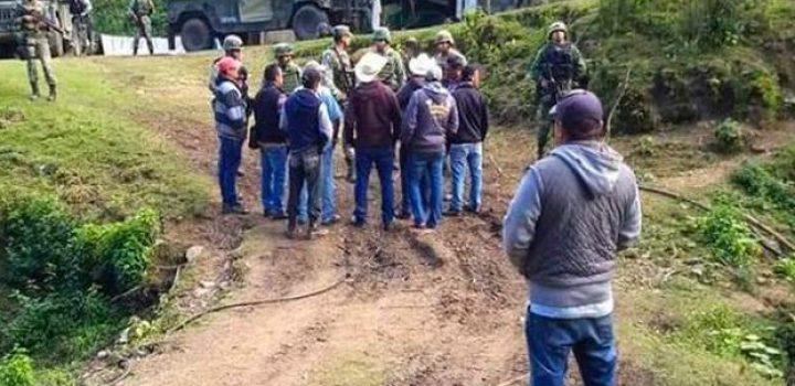 Retienen a 20 militares en la sierra de Guerrero; exigen apoyo