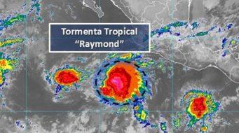 Se forma la Tormenta Tropical Raymond en el Pacífico