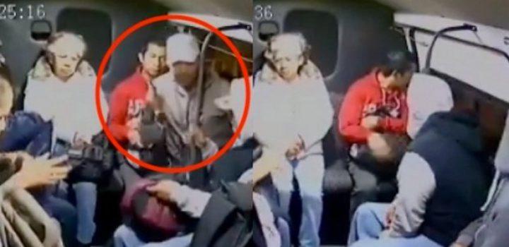 Nadie se angustia: así reaccionan víctimas de asalto en el Edomex