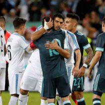 Messi y Suárez igualan fuerzas en duelo amistoso