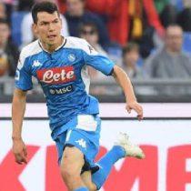 'Chucky' Lozano asiste, pero el Napoli pierde ante la Roma