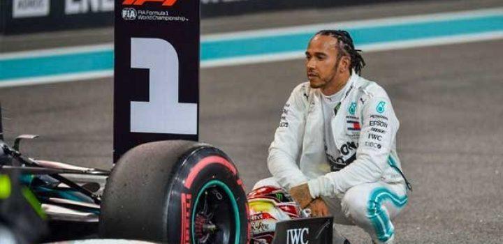 Lewis Hamilton saldrá desde la 'pole' en Yas Marina