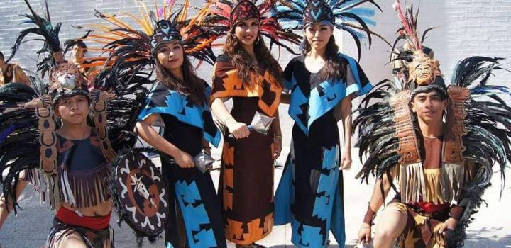 Caravana cultural en CDMX anuncia 45 Aniversario de Antorcha