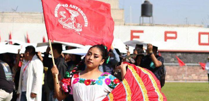 CUT Chimalhuacán se alista para festejo por 45 años de Antorcha