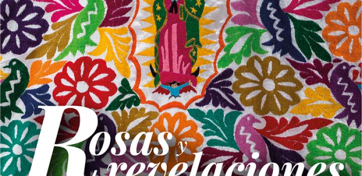 Artistas mexicanos del textil muestran su devoción por La Guadalupana en la exposición Rosas y revelaciones