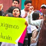 No atienden en Oaxaca a maestros que piden salarios dignos
