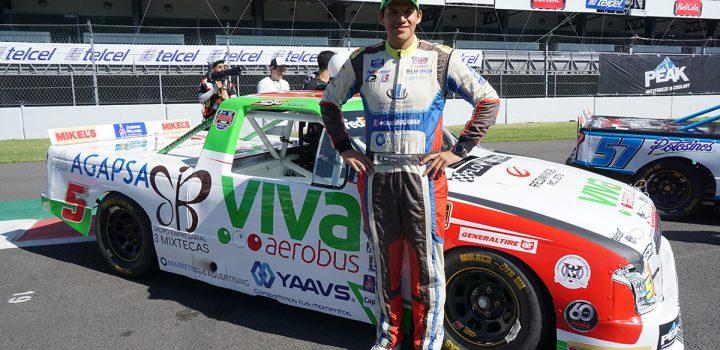 Concluye Aarón Cosío con un quinto lugar la final de Mikel´s Trucks
