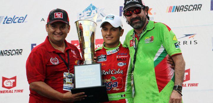 Es Juan Manuel González campeón de NASCAR FedEx Challenge