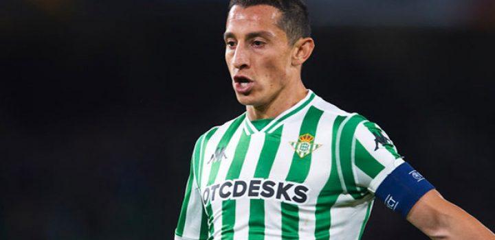 ¡Se queda! Andrés Guardado renovó con Betis hasta el 2022