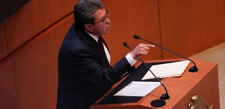 Monreal pacta discusión en parlamento abierto para resolver ley de outsourcing