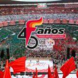Cerrará Antorcha festejos de 45 aniversario en el Estadio Azteca