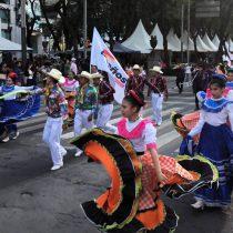 Caravana cultural anuncia  45 Aniversario  de Antorcha  en el Estadio Azteca