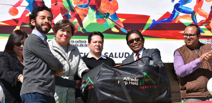 Semáforo Deportivo por la paz en Hidalgo