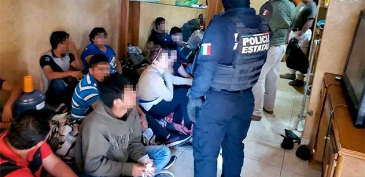 Rescatan a 21 migrantes centroamericanos en Tamaulipas