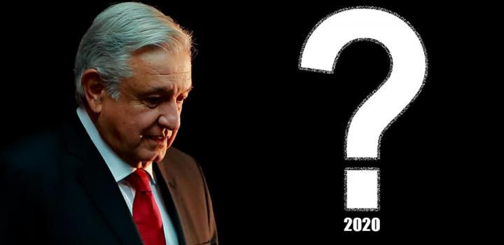 Arranca 2020 con incertidumbre del gobierno de AMLO