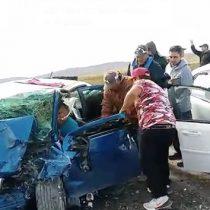 Tremendo accidente en carretera Saltillo-Torreón