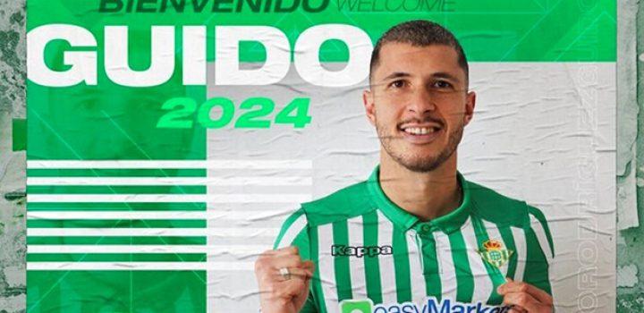 Guido Rodríguez firmó con el Betis hasta 2024