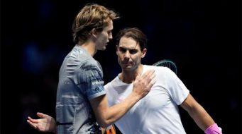 Rafael Nadal y Zverev, en el Abierto Mexicano de Tenis