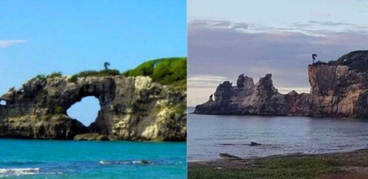 Desaparece 'La Ventana' en playa de Puerto Rico