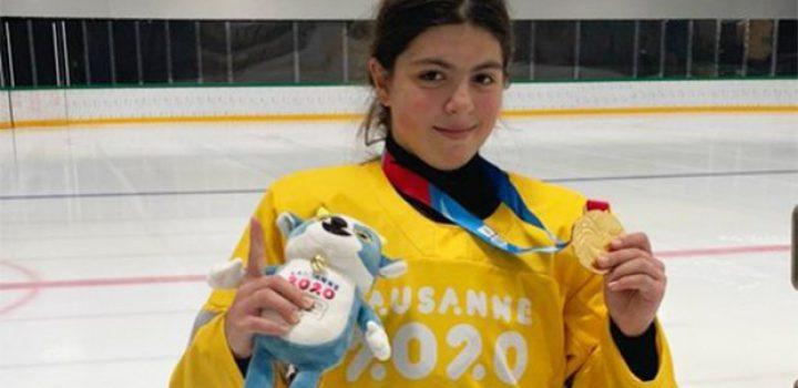 Luisa Wilson gana oro para México en JO de la Juventud de invierno