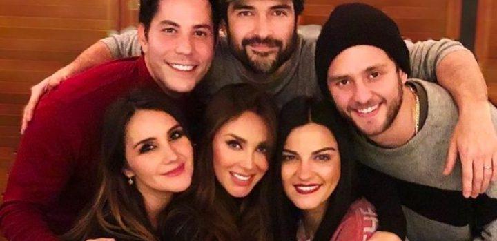 ¡Ahora por Año Nuevo! Integrantes de RBD aparecen juntos otra vez