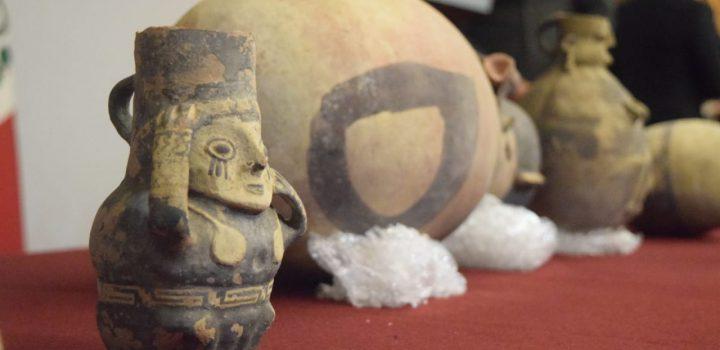 Gobierno de México restituye a la República de Perú 37 piezas de sus antiguas culturas