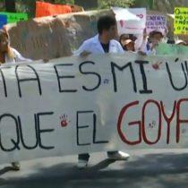 Estudiantes de la UNAM bloquean insurgentes; exigen nuevo director de Medicina Veterinaria