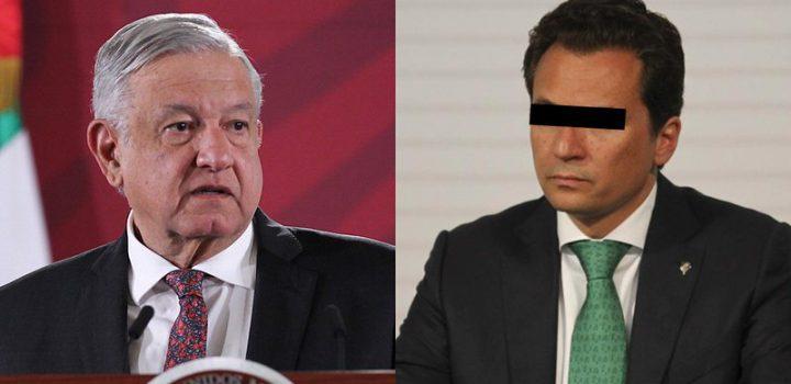 AMLO dice que procederá extradición de Emilio Lozoya: no hay impunidad