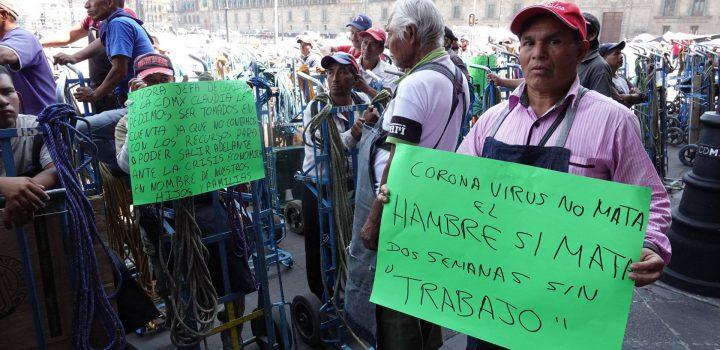 """""""Coronavirus no mata, el hambre sí mata"""": diableros"""