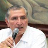 Gobernador de Tabasco, Adán Augusto López, dio positivo al coronavirus
