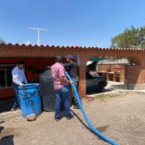 Nopala, Hidaldo, sufre desabasto de agua potable, solicitan ayuda estatal