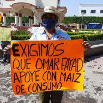 Antorchistas protestan en municipios de Hidalgo; por COVID-19, exigen apoyos de despensas