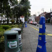 Alcaldía Coyoacán cierra plazas públicas por coronavirus