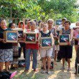 Crimen organizado entrega despensas en Veracruz