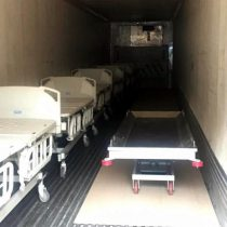 Instalan camiones para cadáveres en Edomex