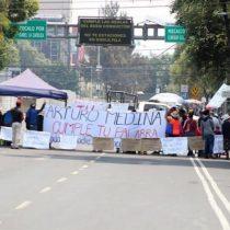 Bloquean Tlalpan vecinos de Xochimilco