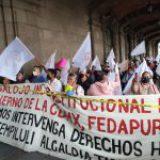 Claudia Sheinbaum desaloja en plena pandemia a 300 familias pobres de Tláhuac
