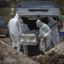 México registra 5 mil 45 muertes por Covid-19