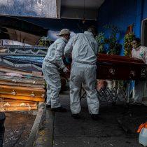 México suma 3,465 muertes por Covid-19 y 35 mil 22 contagiados