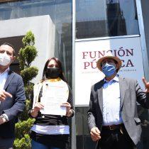 PRD denuncia a Zoé Robledo ante la SFP por la adjudicación directa de contratos a sus familiares