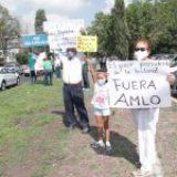 Realizan caravana antiAMLO en Puebla por visita del presidente