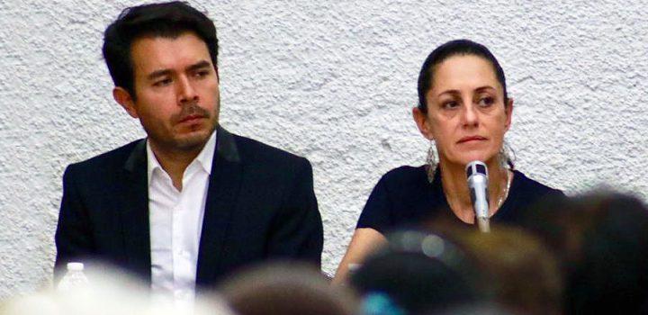 Sheinbaum y Arturo Medina; a sus órdenes ¡señor Presidente!