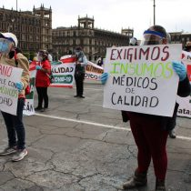 Médicos de Chimalhuacán en riesgo de contraer COVID-19 por falta de insumos