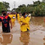 Suman 5 mil 800 casas dañadas por 'Cristóbal'